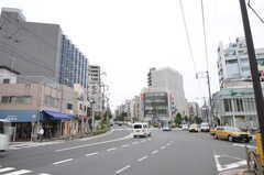 東京メトロ丸ノ内線・新大塚駅前の様子。(2011-09-26,共用部,ENVIRONMENT,1F)