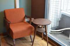 ソファもあります。(2013-03-19,共用部,LIVINGROOM,7F)