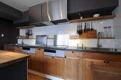 キッチンの様子。(2013-03-19,共用部,KITCHEN,7F)