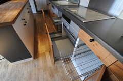 キッチンの収納はしっかりめ。(2013-03-19,共用部,KITCHEN,7F)