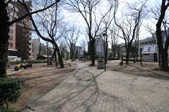 近くの公園の様子。(2013-03-19,共用部,ENVIRONMENT,1F)