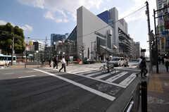 駅からは徒歩2分の距離。(2013-03-19,共用部,ENVIRONMENT,1F)