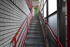 外階段の様子。(2020-03-18,共用部,OTHER,1F)