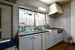キッチンの様子。(2018-04-06,共用部,KITCHEN,1F)