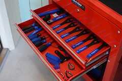 工具も豊富に取りそろえられています。(2013-03-21,共用部,GARAGE,1F)