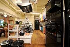 キッチンの様子1。(2013-03-21,共用部,KITCHEN,1F)