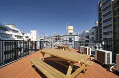 屋上の様子2。(2013-03-21,共用部,OTHER,5F)