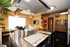 シェアハウスのキッチンの様子。(2010-04-09,共用部,KITCHEN,1F)