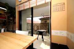 シェアハウスのキッチンの様子。(2010-04-09,共用部,LIVINGROOM,1F)