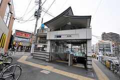 東京メトロ丸ノ内線新大塚駅の様子。(2010-04-09,共用部,ENVIRONMENT,1F)