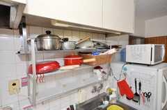 シェアハウスのキッチンの様子2。(2009-07-27,共用部,KITCHEN,2F)