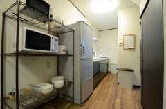 キッチンの様子。(2015-05-25,共用部,KITCHEN,1F)