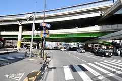 各線・池袋駅からシェアハウスへ向かう道の様子。(2011-04-12,共用部,ENVIRONMENT,1F)