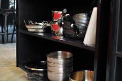 調理器具もたくさん揃っています。(2012-04-24,共用部,KITCHEN,1F)