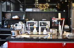 キッチンの様子2。(2012-08-01,共用部,KITCHEN,1F)