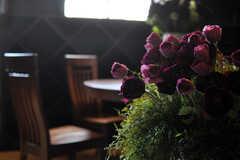 薔薇がセクシーです。(2012-04-09,共用部,LIVINGROOM,2F)