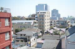 窓からは六義園が見えます。(412号室)(2012-04-09,専有部,ROOM,4F)