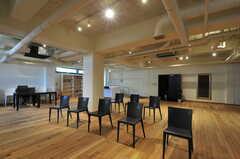 プレイルームの様子3。イベントやワークショップの開催を予定しているそう。(2012-08-01,共用部,OTHER,)