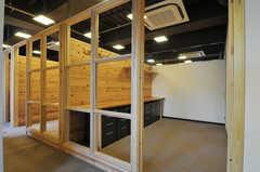 同じ建物内に、シェアオフィスも準備中です。(2012-12-03,共用部,OTHER,3F)