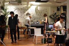 HOUSE CINEMA - 「フランシス・ハ」試写&交流会の様子4。(2014-08-25,共用部,PARTY,)