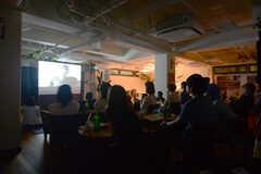 HOUSE CINEMA - 「フランシス・ハ」試写&交流会の様子5。(2014-08-25,共用部,PARTY,)
