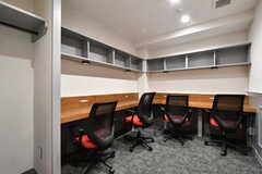 4名まで対応できるプライベートオフィス。※利用は別途契約が必要です。(2021-03-18,共用部,OTHER,3F)