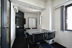 コワーキングスペースANNEXの会議室。(2021-03-18,共用部,OTHER,3F)