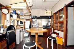 シェアハウスのラウンジの様子。(2009-08-03,共用部,LIVINGROOM,2F)