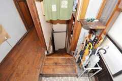 階段の様子。(2009-08-03,共用部,OTHER,2F)