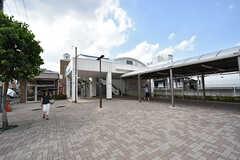 西武池袋線・東長崎駅の様子。(2016-07-19,共用部,ENVIRONMENT,1F)