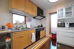 キッチンの様子。(2012-12-13,共用部,KITCHEN,2F)
