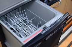 食器洗浄器が付いています。(2012-12-13,共用部,KITCHEN,2F)