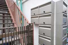 ポストは部屋ごとに用意されています。(2014-01-08,共用部,OTHER,1F)