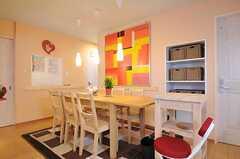 シェアハウスのリビングの様子4。(2010-11-05,共用部,LIVINGROOM,1F)