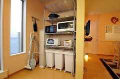 キッチン家電の様子。(2010-11-05,共用部,KITCHEN,1F)