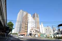 東京メトロ有楽町線東池袋駅前の様子。(2010-11-05,共用部,ENVIRONMENT,1F)