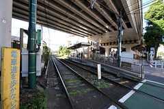 都電荒川線東池袋駅の様子。(2010-11-05,共用部,ENVIRONMENT,1F)