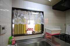 キッチンの様子2。(2012-02-28,共用部,KITCHEN,3F)