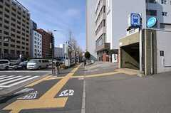 東京メトロ有楽町線・護国寺駅の様子。(2012-02-28,共用部,ENVIRONMENT,1F)