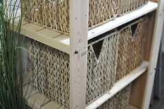 小物をいれる収納は、部屋ごとに用意されています。(2013-08-30,共用部,KITCHEN,1F)