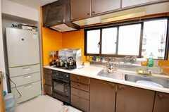 シェアハウスのキッチンの様子。(2009-05-19,共用部,KITCHEN,9F)