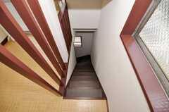 階段の様子。(2009-10-19,共用部,OTHER,3F)