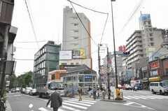 東京メトロ丸ノ内線新大塚駅前の様子。(2009-10-19,共用部,ENVIRONMENT,1F)