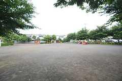 近くにある公園の様子。(2014-06-24,共用部,ENVIRONMENT,1F)