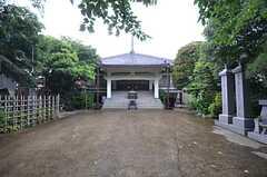 近所のお寺の様子。(2014-06-24,共用部,ENVIRONMENT,1F)