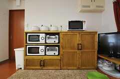 キッチン家電の様子。(2011-07-05,共用部,LIVINGROOM,2F)