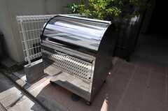 共用のゴミ置き場の様子。(2011-07-05,共用部,OTHER,1F)