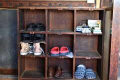 靴箱の様子。(2019-11-13,周辺環境,ENTRANCE,1F)