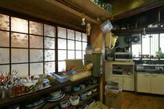 食器棚の様子。(2019-11-13,共用部,KITCHEN,1F)