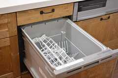 全室、食器洗浄機付きです。(101号室)(2016-09-12,専有部,ROOM,2F)